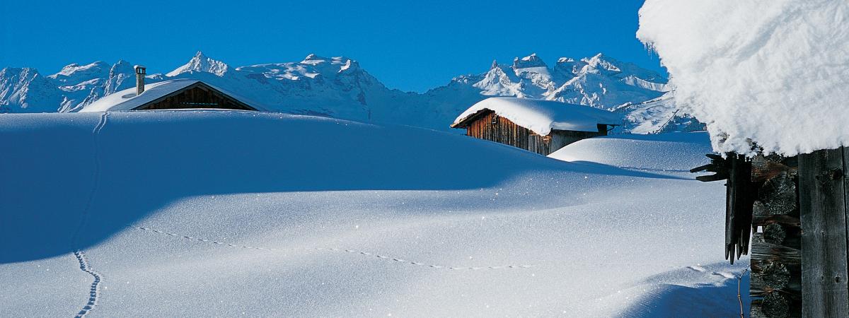 Einzigartige Winterlandschaft im Montafon